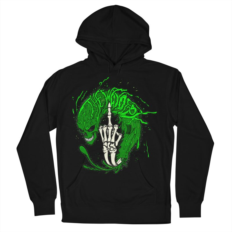 Slimey Diss 2 Men's French Terry Pullover Hoody by THEWAYOFPK