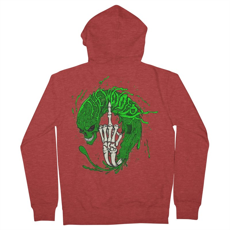 Slimey Diss 2 Men's French Terry Zip-Up Hoody by THEWAYOFPK