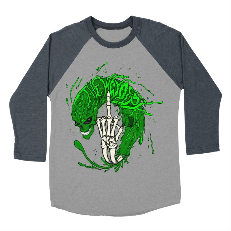 Slimey Diss 2 Women's Baseball Triblend T-Shirt by THEWAYOFPK