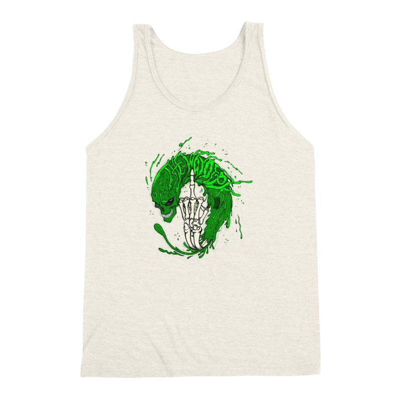 Slimey Diss 2 Men's Triblend Tank by THEWAYOFPK