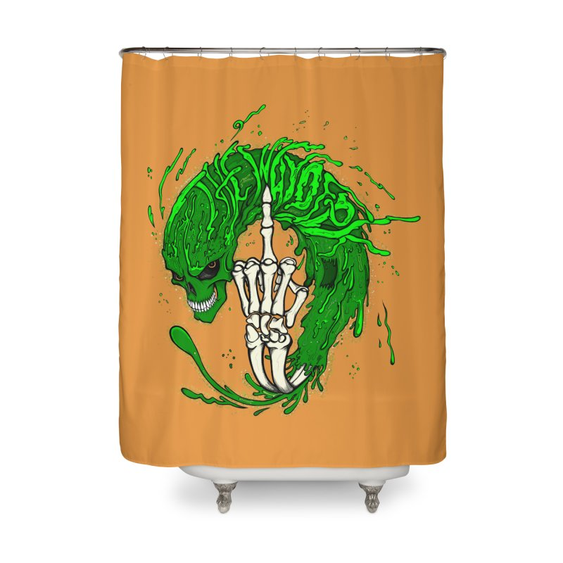 Slimey Diss 2 Home Shower Curtain by THEWAYOFPK