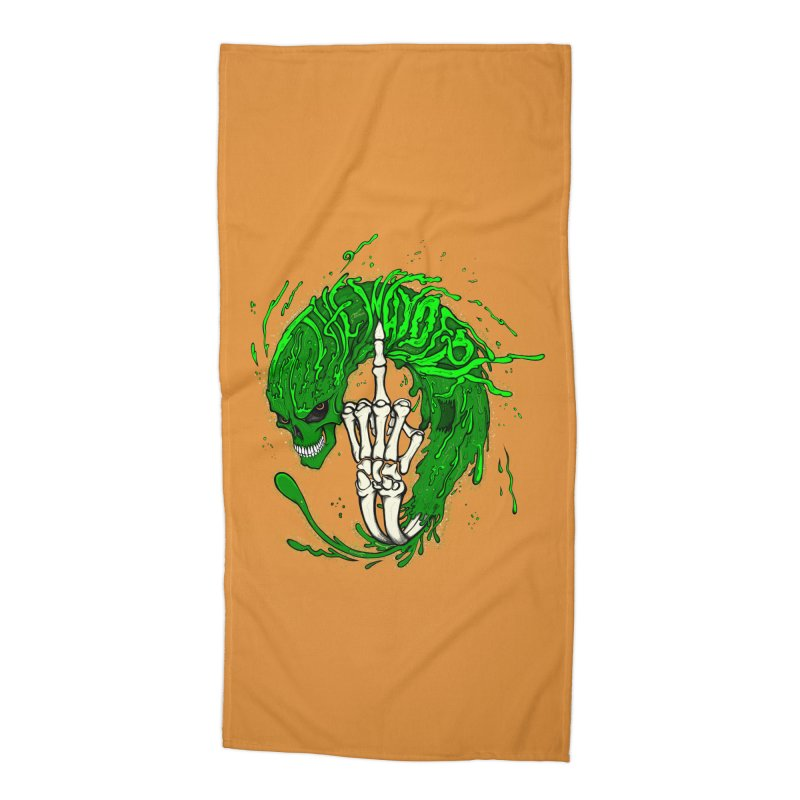Slimey Diss 2 Accessories Beach Towel by THEWAYOFPK