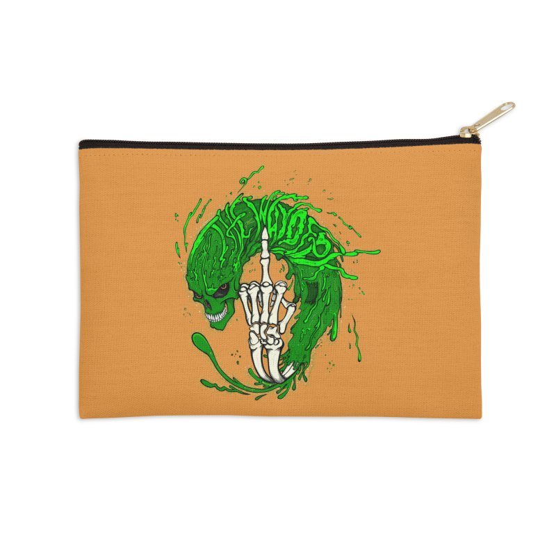 Slimey Diss 2 Accessories Zip Pouch by THEWAYOFPK