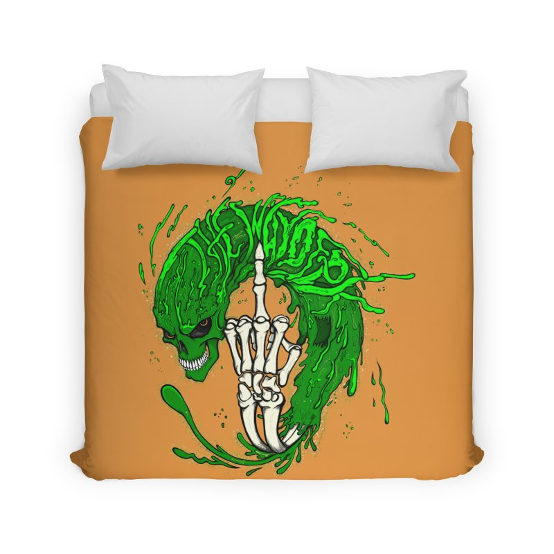 Slimey Diss 2 Home Duvet by THEWAYOFPK