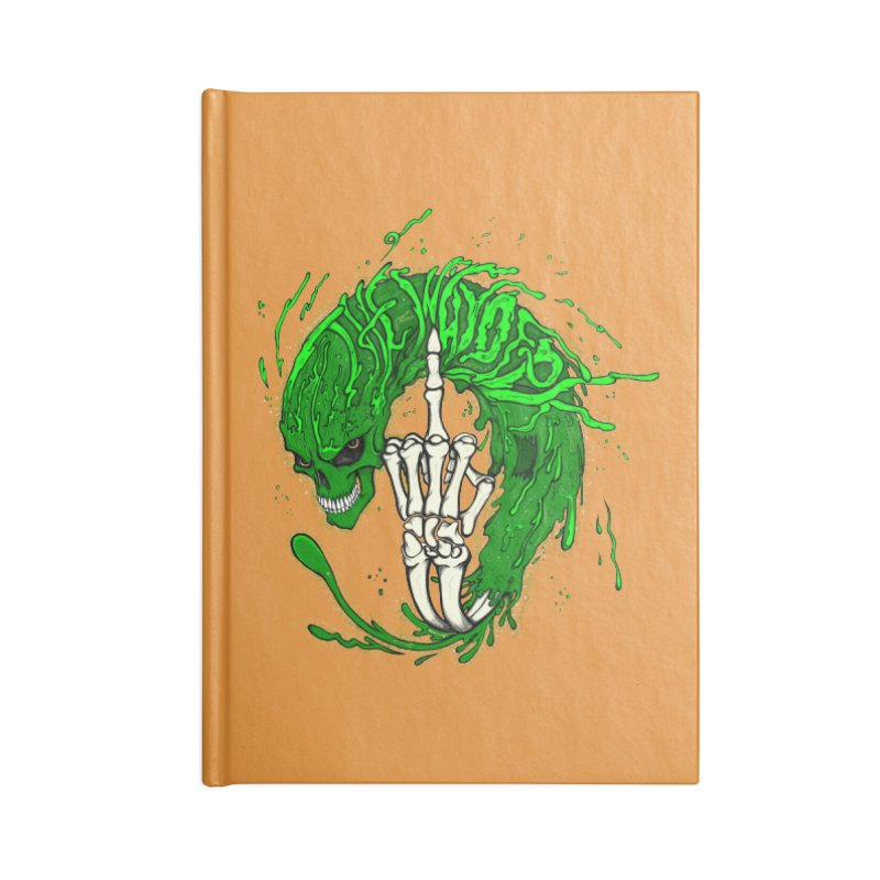 Slimey Diss 2 Accessories Notebook by THEWAYOFPK