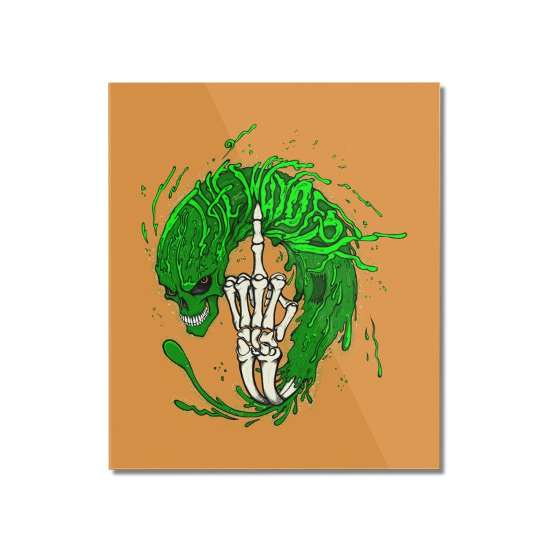 Slimey Diss 2 Home Mounted Acrylic Print by THEWAYOFPK