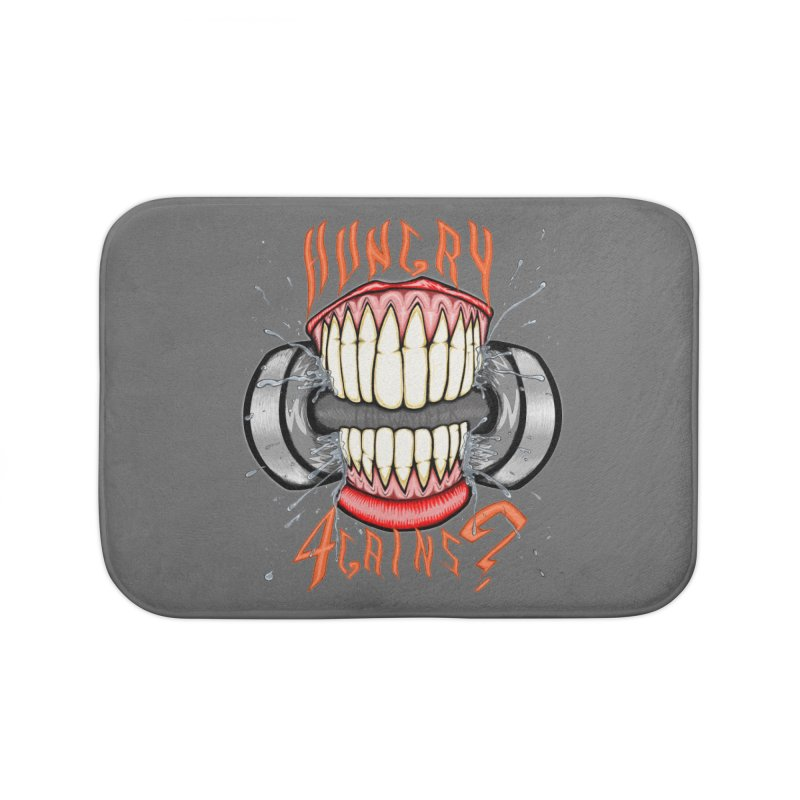 Wicked Workout Home Bath Mat by THEWAYOFPK