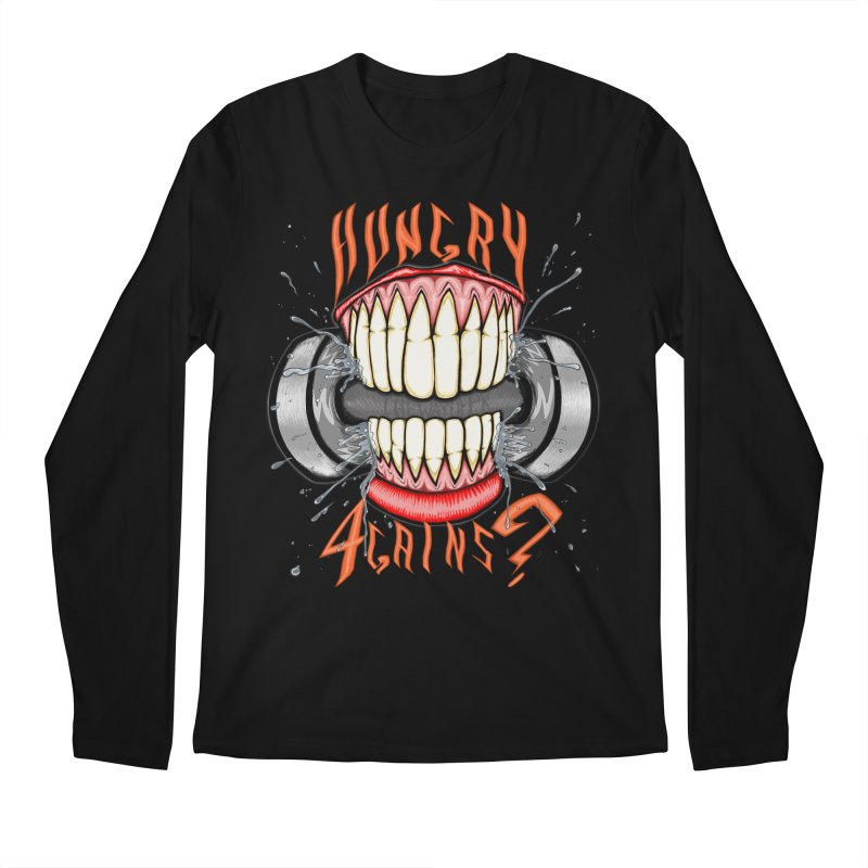 Wicked Workout Men's Regular Longsleeve T-Shirt by THEWAYOFPK