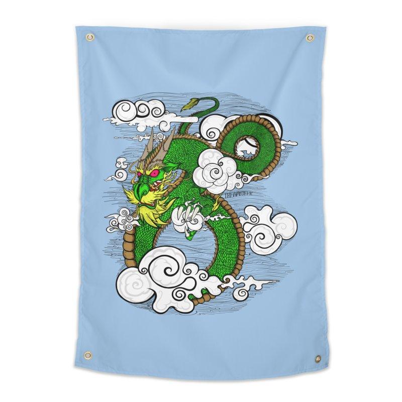 Dragon Daze Home Tapestry by THEWAYOFPK