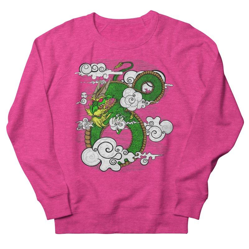 Dragon Daze Women's French Terry Sweatshirt by THEWAYOFPK