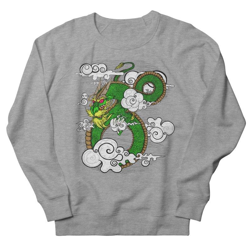 Dragon Daze Men's French Terry Sweatshirt by THEWAYOFPK
