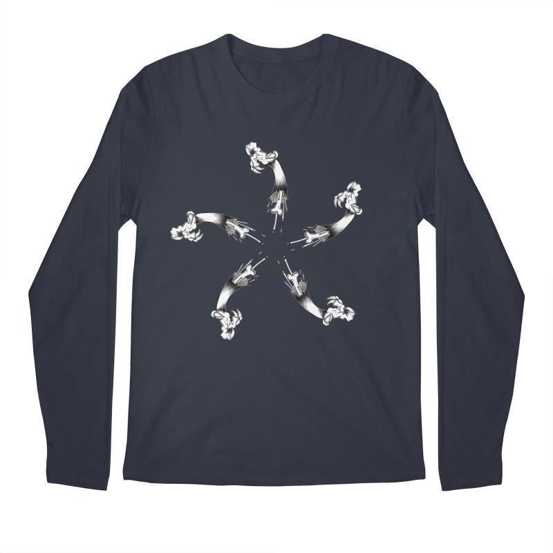 Star of  Vengeance  Men's Longsleeve T-Shirt by thewayofpk - wear 2 scare