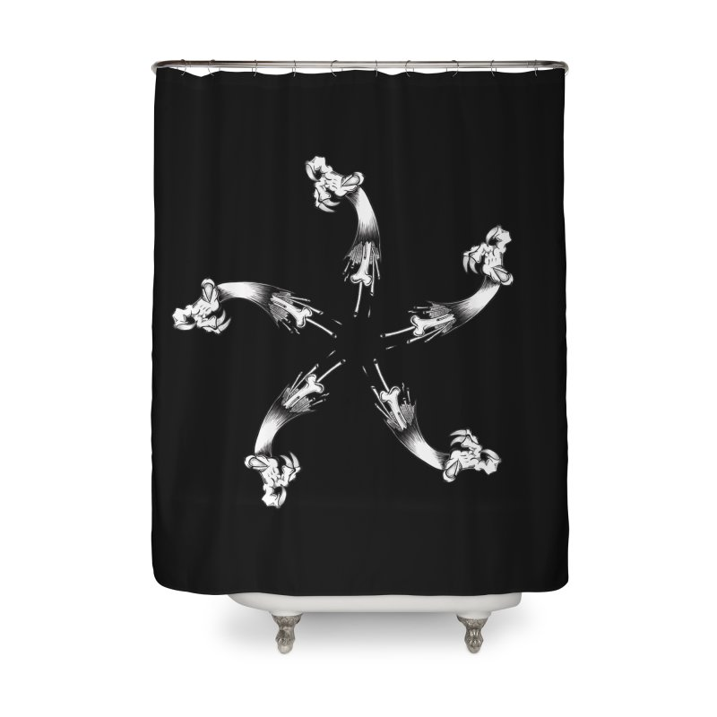 Star of  Vengeance  Home Shower Curtain by thewayofpk - wear 2 scare