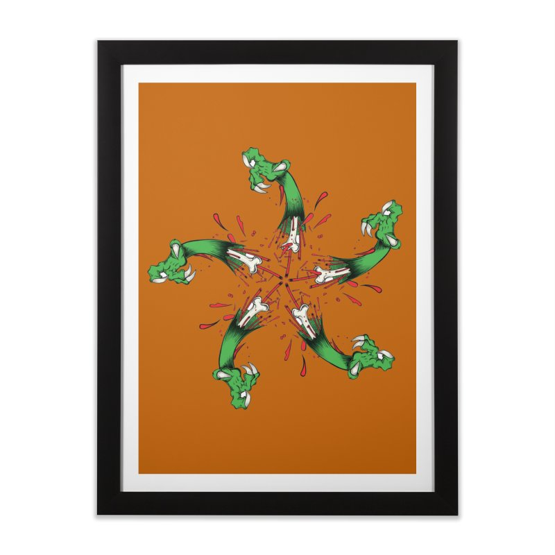 Star of Vengeance/ Circle of Violence Series  02  Home Framed Fine Art Print by thewayofpk - wear 2 scare