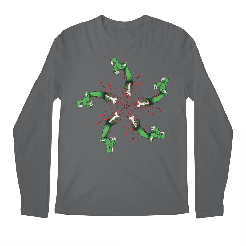 Star of Vengeance/ Circle of Violence Series  02  Men's Longsleeve T-Shirt by THEWAYOFPK