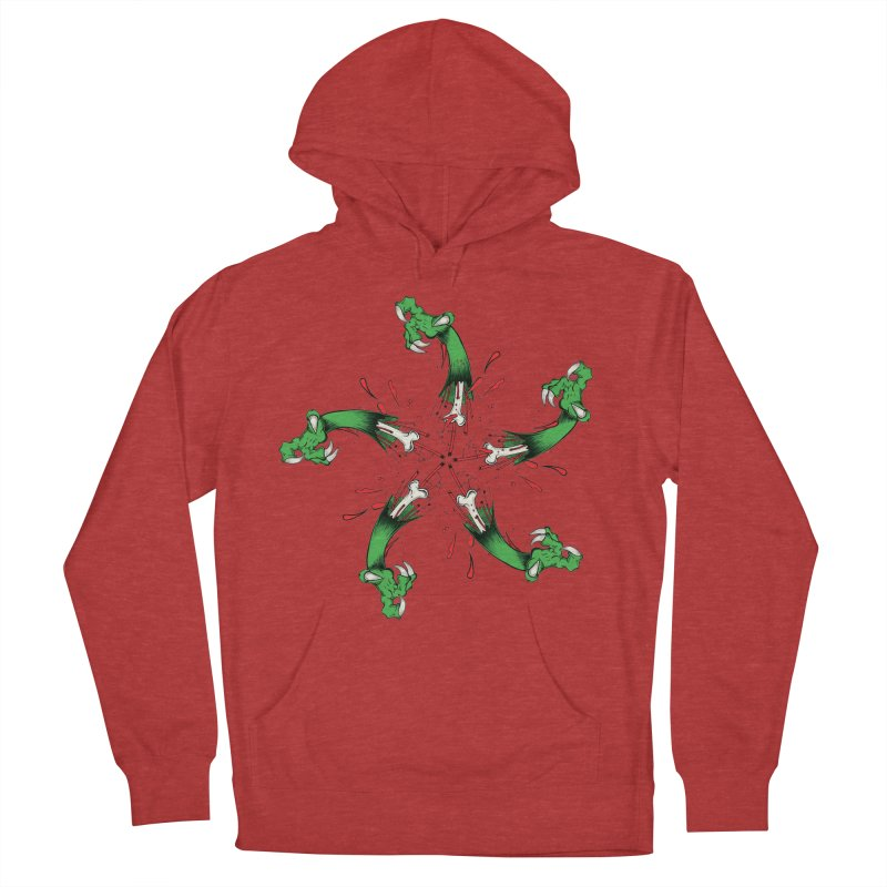 Star of Vengeance/ Circle of Violence Series  02  Men's French Terry Pullover Hoody by THEWAYOFPK