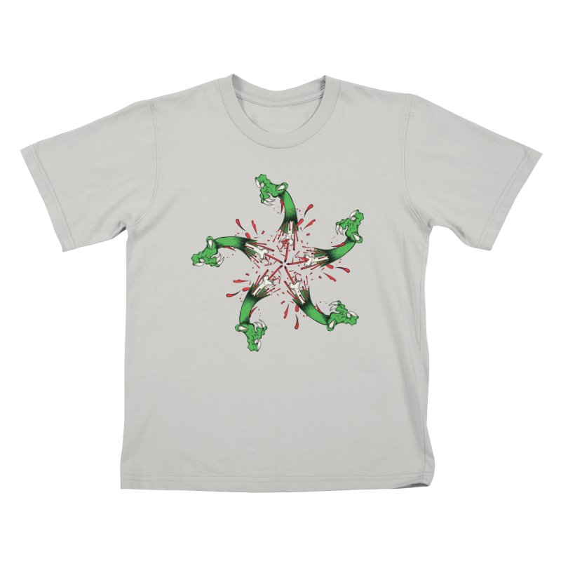 Star of Vengeance/ Circle of Violence Series  02  Kids T-shirt by thewayofpk - wear 2 scare
