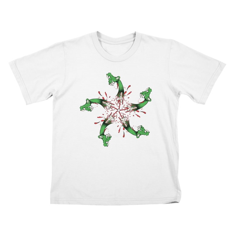 Star of Vengeance/ Circle of Violence Series  02  Kids T-Shirt by THEWAYOFPK