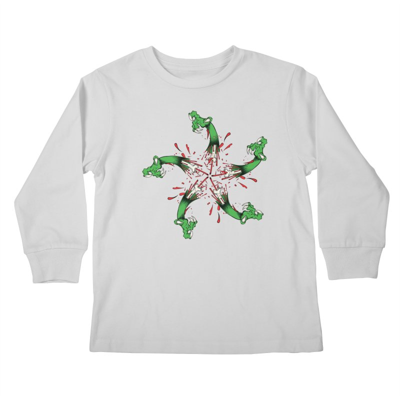 Star of Vengeance/ Circle of Violence Series  02  Kids Longsleeve T-Shirt by THEWAYOFPK