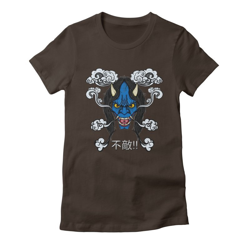 Futeki (Fearless) Women's Fitted T-Shirt by THEWAYOFPK