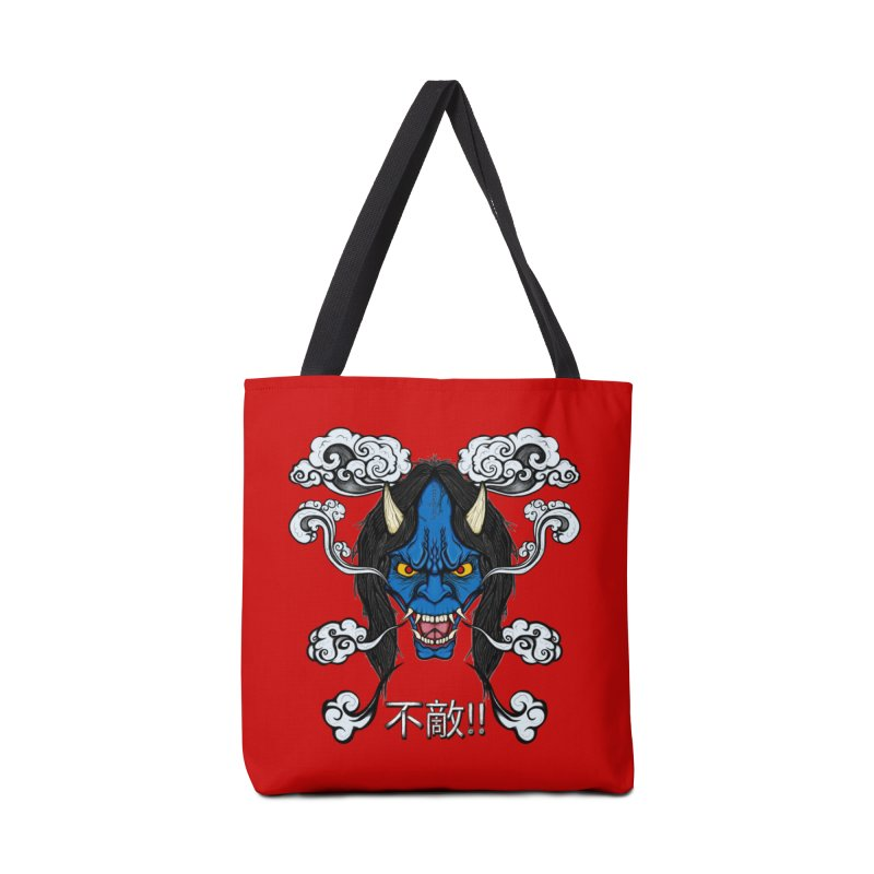 Futeki (Fearless) Accessories Tote Bag Bag by THEWAYOFPK