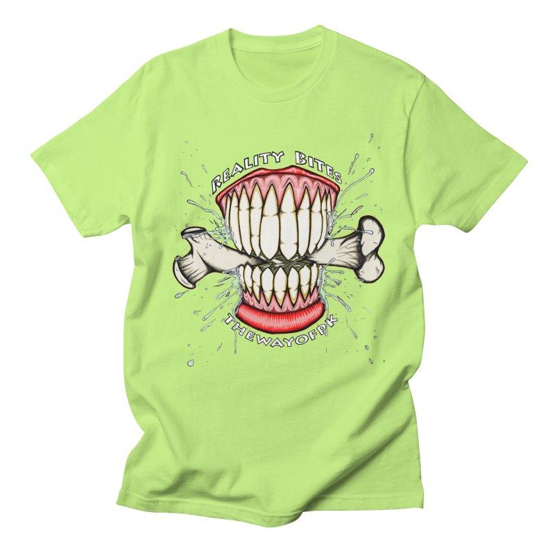 Reality Bites Women's Regular Unisex T-Shirt by THEWAYOFPK