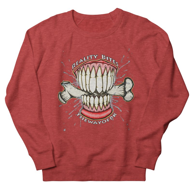 Reality Bites Men's French Terry Sweatshirt by THEWAYOFPK