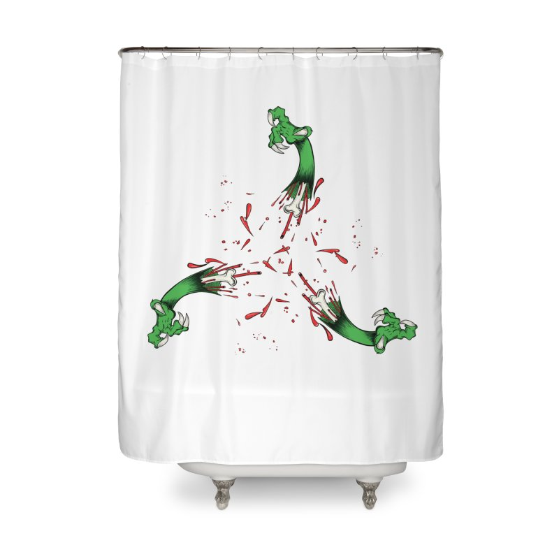 Violence Comes Around/ Circle of Violence Series  01 Home Shower Curtain by thewayofpk - wear 2 scare