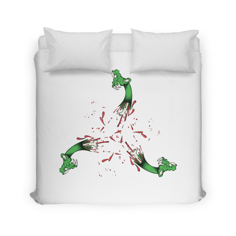 Violence Comes Around/ Circle of Violence Series  01 Home Duvet by thewayofpk - wear 2 scare