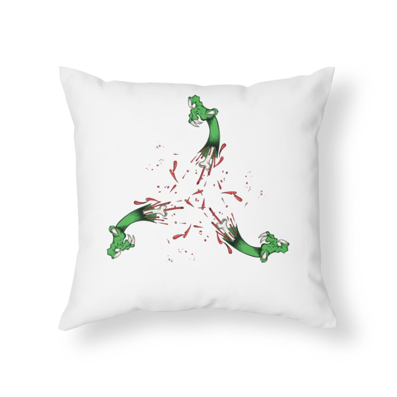 Violence Comes Around/ Circle of Violence Series  01 Home Throw Pillow by thewayofpk