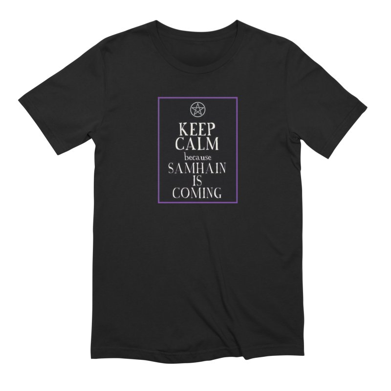 KeepCalmSamhain Men's Extra Soft T-Shirt by The Ways of The Old's Artist Shop