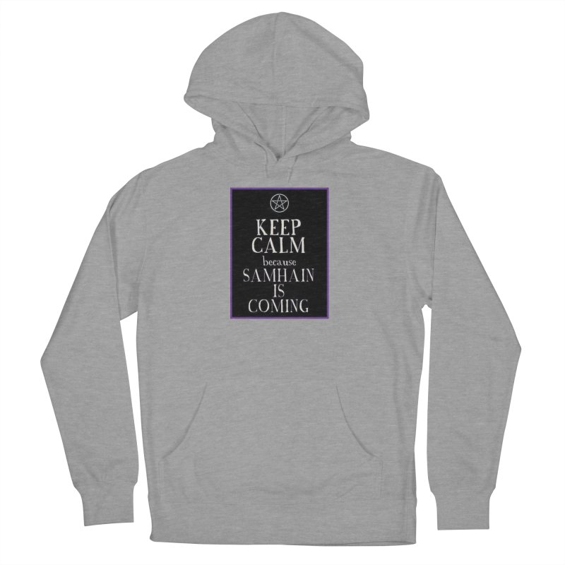 KeepCalmSamhain Men's French Terry Pullover Hoody by The Ways of The Old's Artist Shop