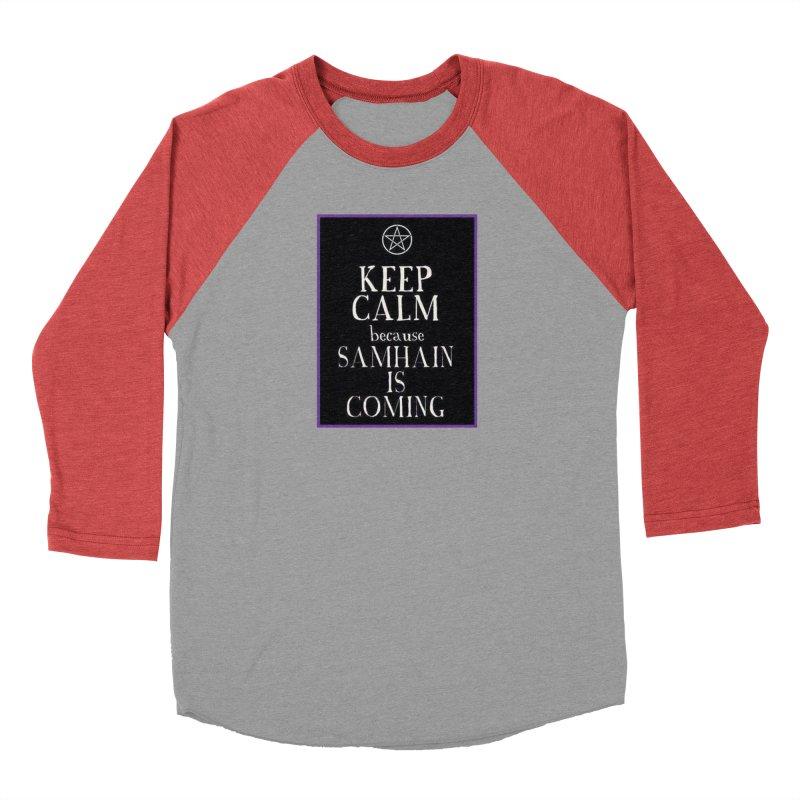 KeepCalmSamhain Men's Baseball Triblend Longsleeve T-Shirt by The Ways of The Old's Artist Shop