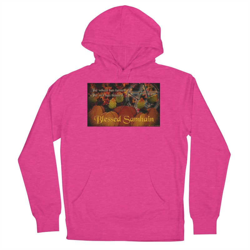 TheWheelHasTurned Women's French Terry Pullover Hoody by The Ways of The Old's Artist Shop