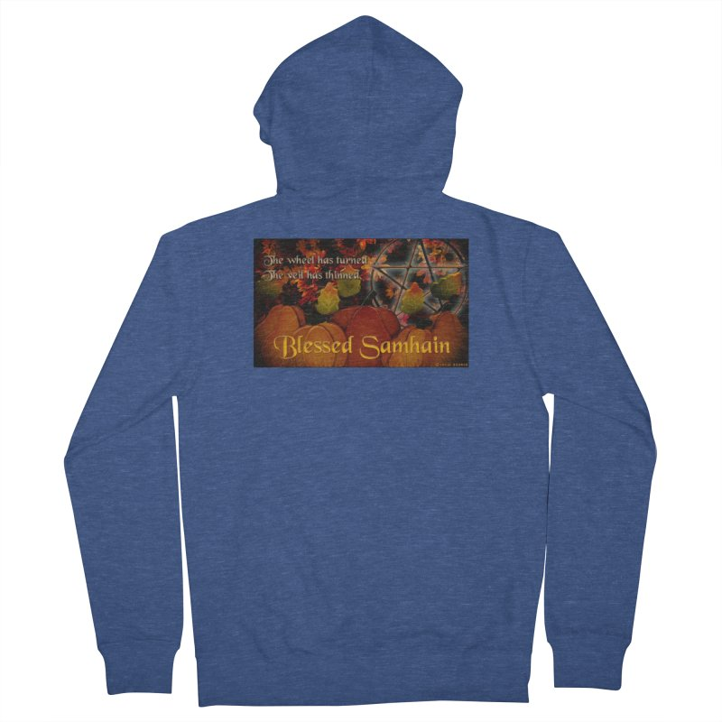 TheWheelHasTurned Women's French Terry Zip-Up Hoody by The Ways of The Old's Artist Shop