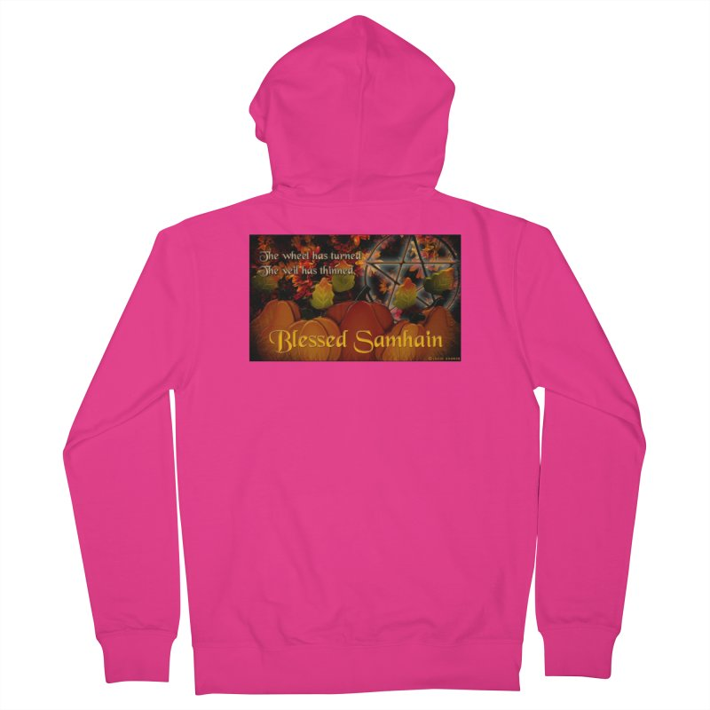 TheWheelHasTurned Men's French Terry Zip-Up Hoody by The Ways of The Old's Artist Shop