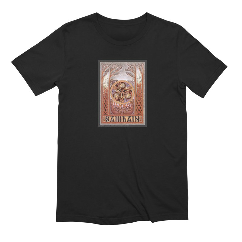 Samhain Men's Extra Soft T-Shirt by The Ways of The Old's Artist Shop