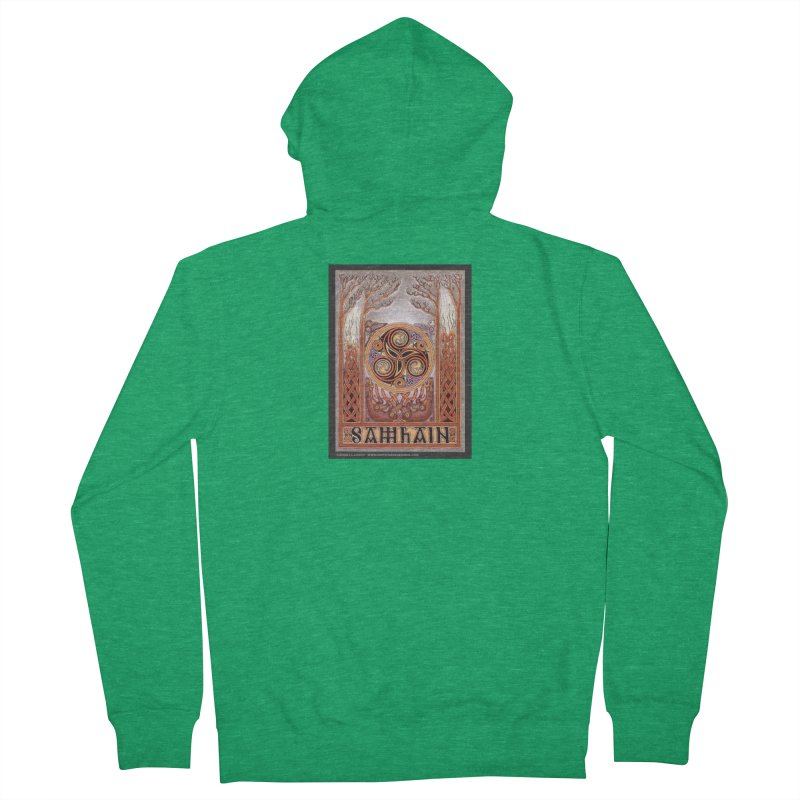 Samhain Women's French Terry Zip-Up Hoody by The Ways of The Old's Artist Shop