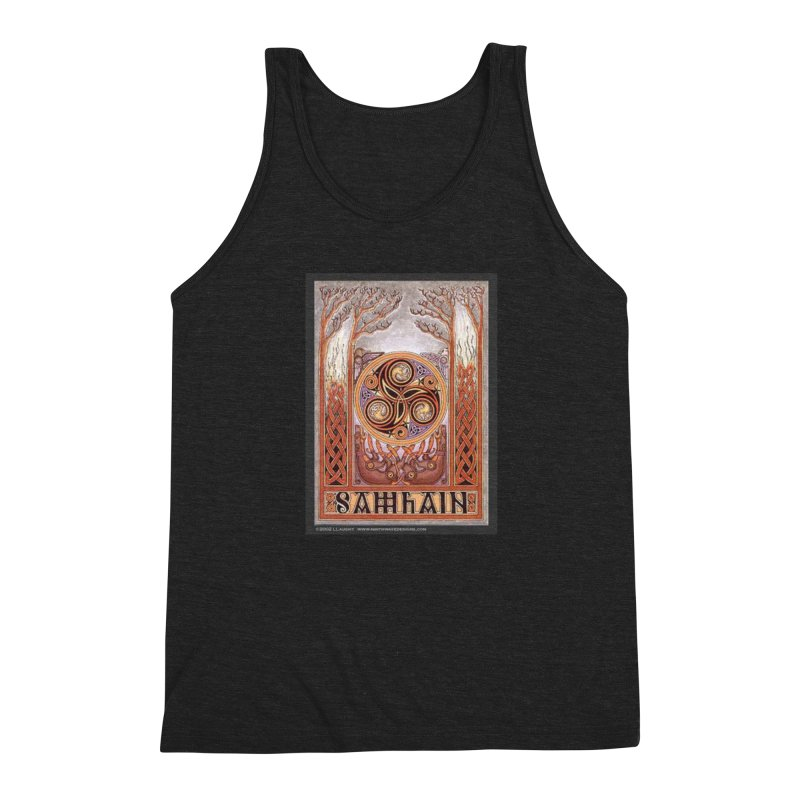 Samhain Men's Triblend Tank by The Ways of The Old's Artist Shop