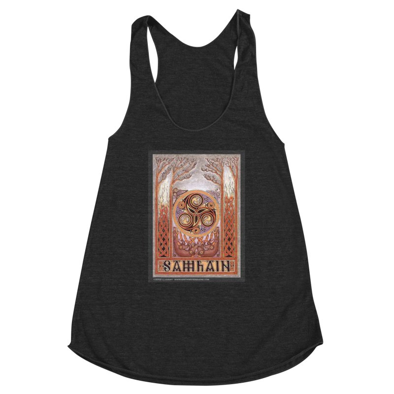 Samhain Women's Racerback Triblend Tank by The Ways of The Old's Artist Shop