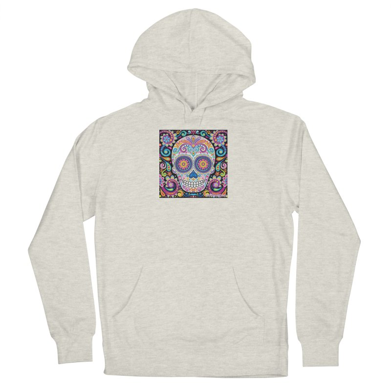 CandySkull Women's French Terry Pullover Hoody by The Ways of The Old's Artist Shop