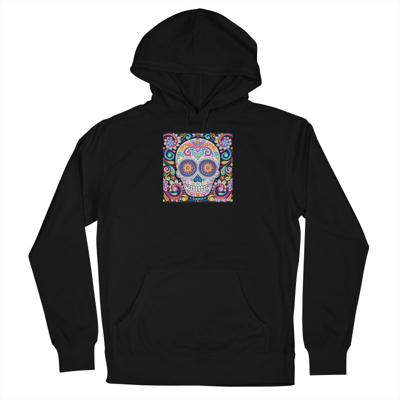 CandySkull Men's French Terry Pullover Hoody by The Ways of The Old's Artist Shop