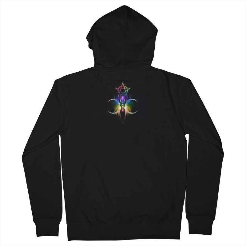 GoddessMoon Men's French Terry Zip-Up Hoody by The Ways of The Old's Artist Shop
