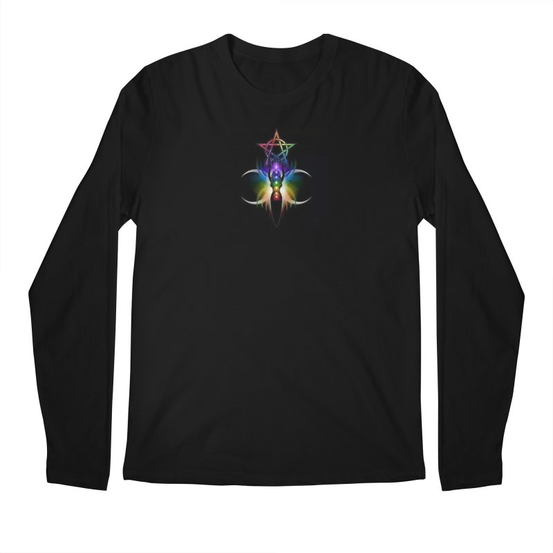 GoddessMoon Men's Regular Longsleeve T-Shirt by The Ways of The Old's Artist Shop