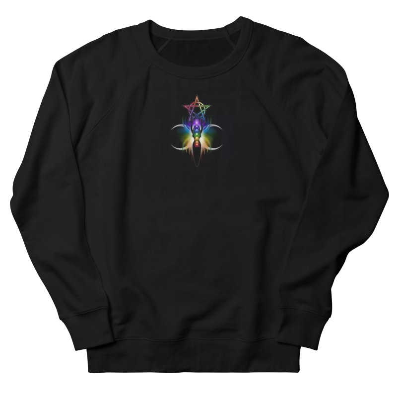 GoddessMoon Women's French Terry Sweatshirt by The Ways of The Old's Artist Shop