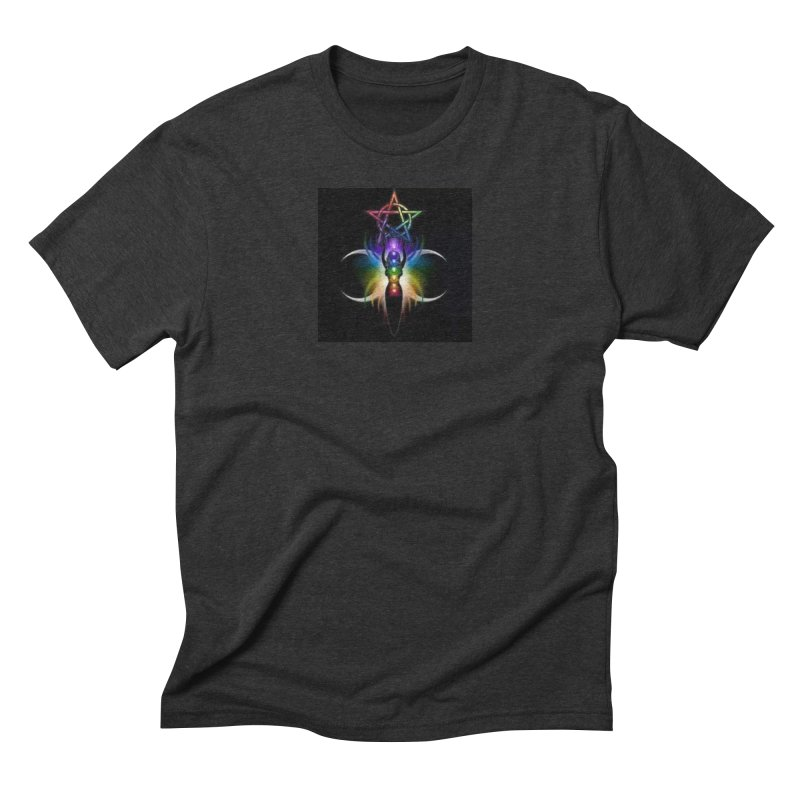 GoddessMoon Men's Triblend T-Shirt by The Ways of The Old's Artist Shop