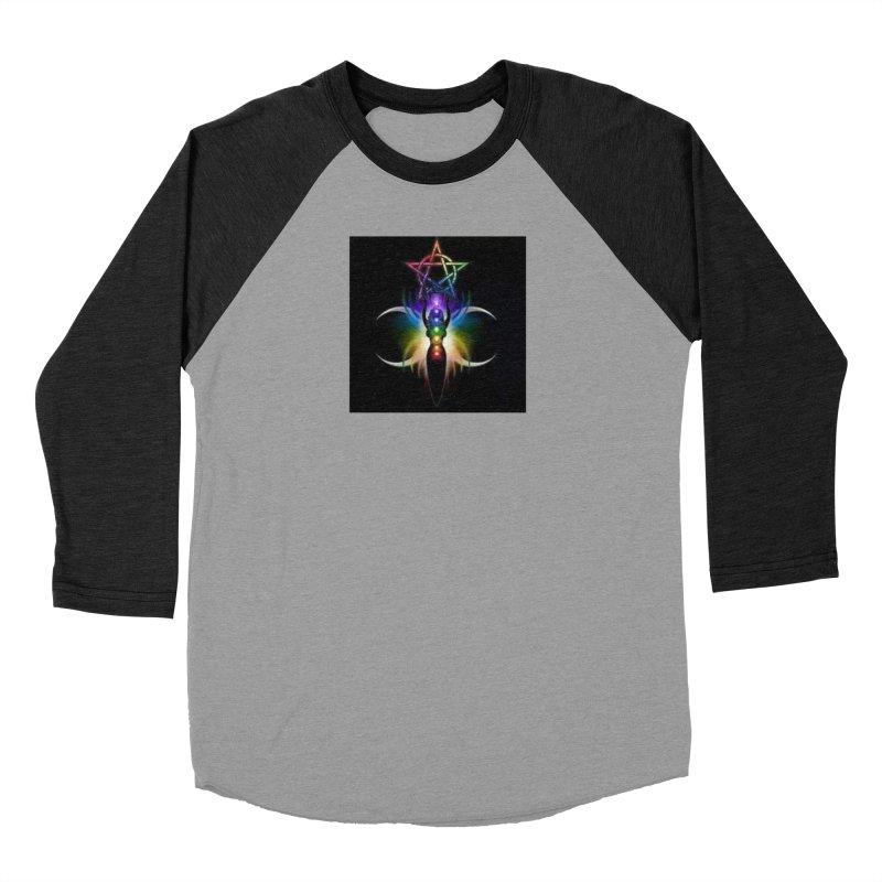 GoddessMoon Women's Baseball Triblend Longsleeve T-Shirt by The Ways of The Old's Artist Shop