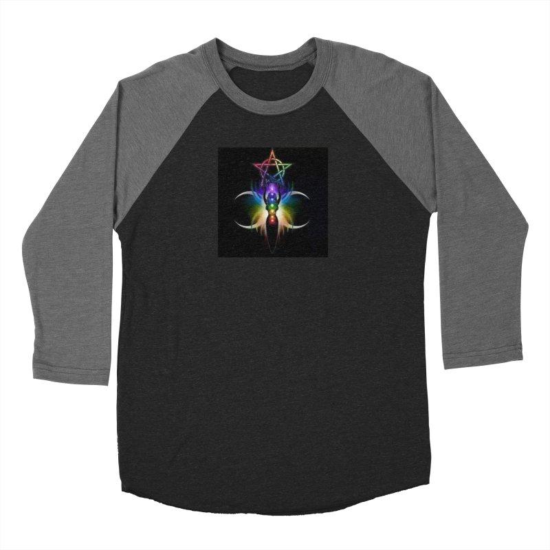 GoddessMoon Men's Baseball Triblend Longsleeve T-Shirt by The Ways of The Old's Artist Shop