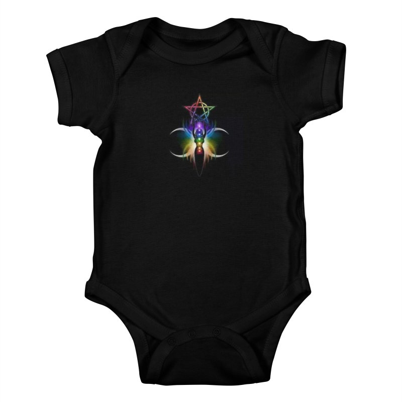 GoddessMoon Kids Baby Bodysuit by The Ways of The Old's Artist Shop