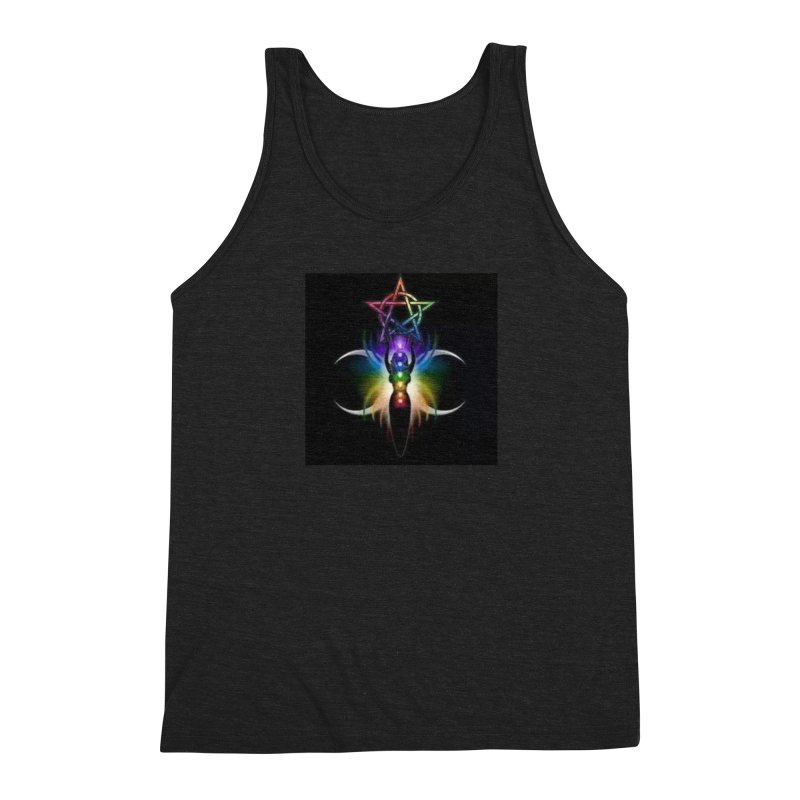 GoddessMoon Men's Triblend Tank by The Ways of The Old's Artist Shop